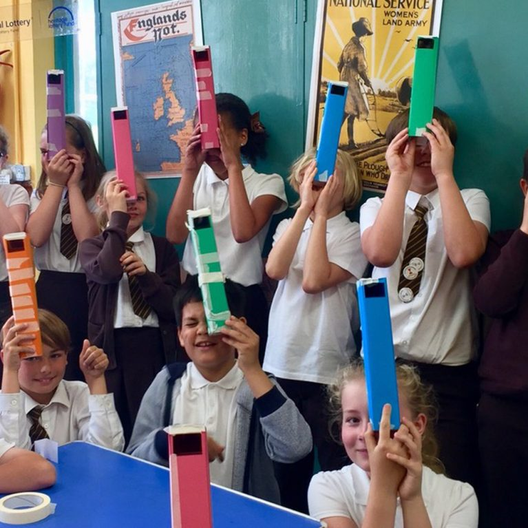 Periscopes event with year 5